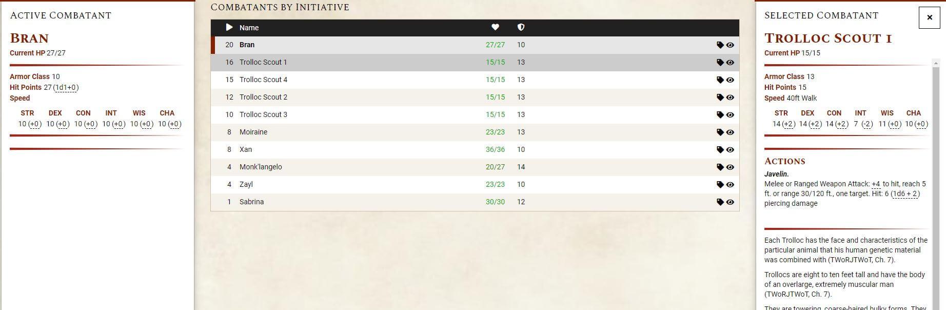 What's the Best D&D 5e Initiative Tracker?   Arcane Eye